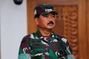 Panglima TNI Terima Laporan Kenaikan Pangkat 84 Perwira Tinggi