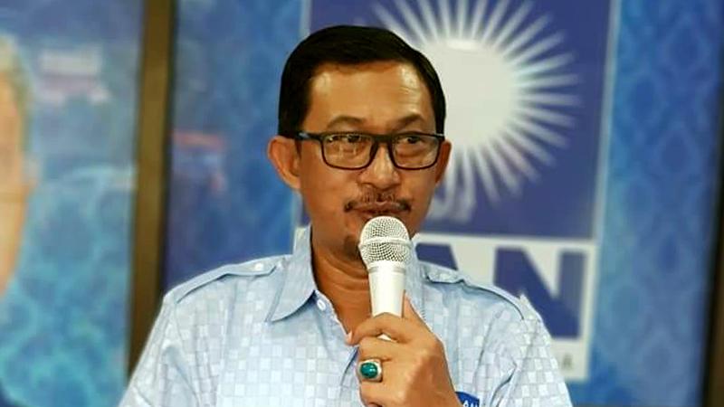 Ketua DPD PAN Kota Bitung, Gunawan Pontoh