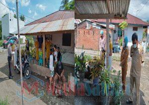Polsek Tenga Dampingi Tim Gugus Tugas Covid-19 Lakukan Rapid Test di Desa Molinow