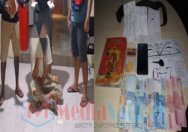 Sikat Judi Togel, Resmob Polres Minsel Amankan Babuk Uang Tunai Jutaan Rupiah