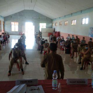 Pelatihan Trecar Covi-19, di BPU Tutuyan.(foto:ist)