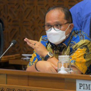 Anggota Komisi II DPR RI Junimart Girsang.(Foto: Andri/Man)/ist